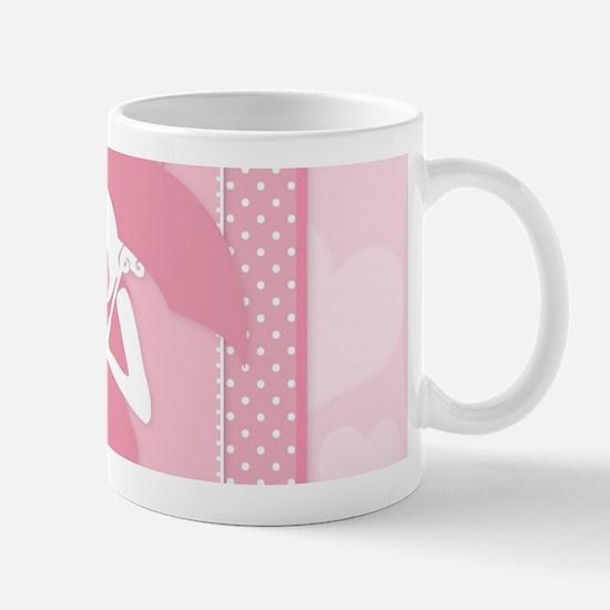 pink pregnancy Mugs