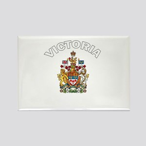 Victoria Coat of Arms Rectangle Magnet