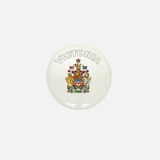 Victoria Coat of Arms Mini Button
