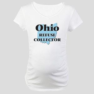 Ohio Refuse Collector Maternity T-Shirt