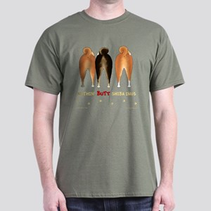 Nothin' Butt Shiba Inus Dark T-Shirt