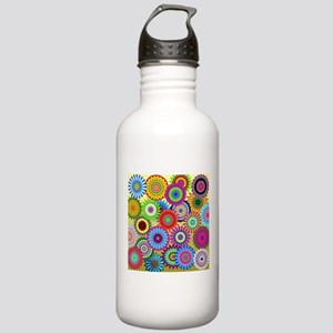 Psychedelic (P)Spirals Stainless Water Bottle 1.0L