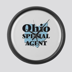Ohio Special Agent Large Wall Clock