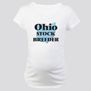 Ohio Stock Breeder Maternity T-Shirt