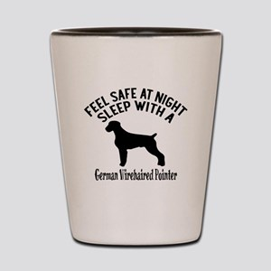 Sleep With German Wirehaired Pointer Do Shot Glass