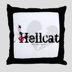 Vintage Hellcat Throw Pillow