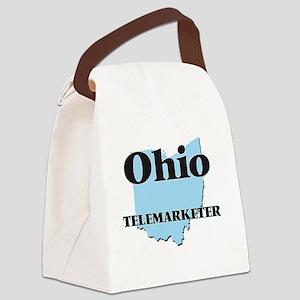 Ohio Telemarketer Canvas Lunch Bag