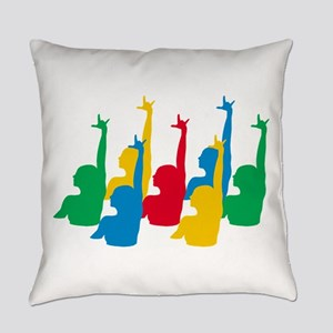 Synchronized Swimming Everyday Pillow