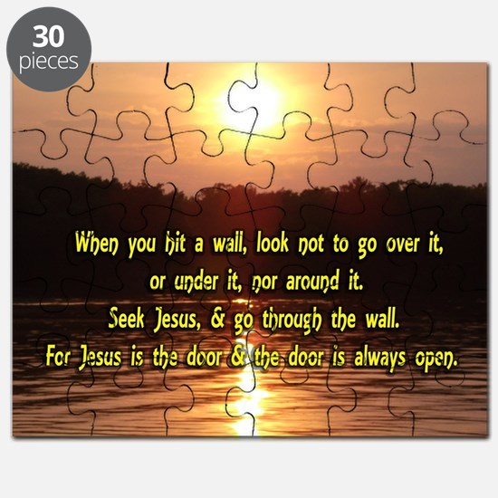 The Wall and Jesus Puzzle