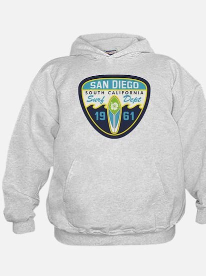 San Diego Surf Dept 1961 Hoody