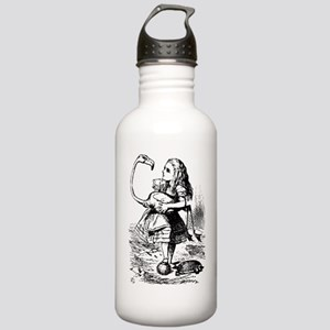 Alice with Flamingo Stainless Water Bottle 1.0L