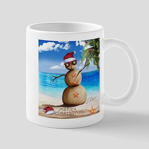 J Rowe Christmas Sandman Mugs