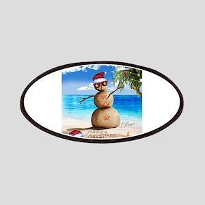 J Rowe Christmas Sandman Patch