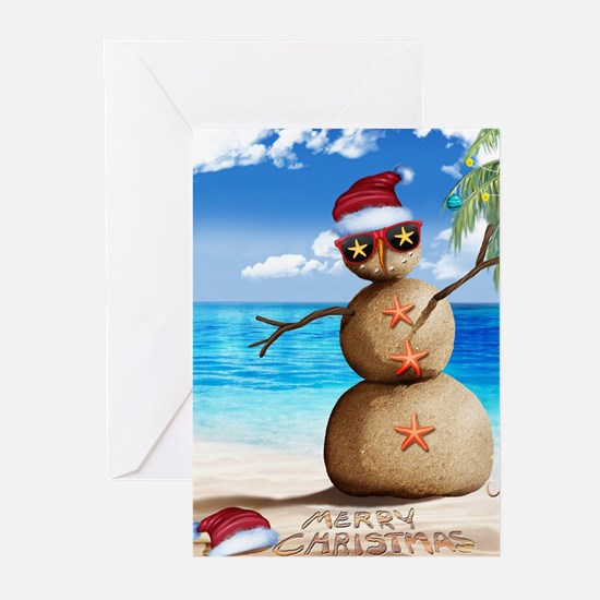 J Rowe Christmas Sandman Greeting Cards