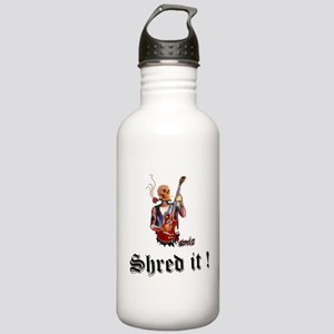 Skull guitarist rock m Stainless Water Bottle 1.0L