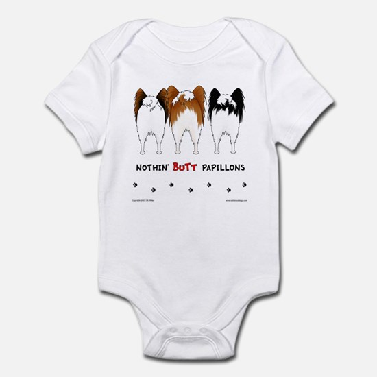 Nothin' Butt Papillons Infant Bodysuit