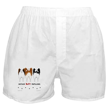 Nothin' Butt Papillons Boxer Shorts