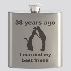 38 Years Ago I Married My Best Friend Flask