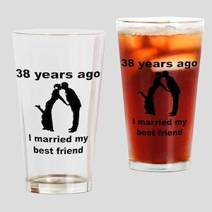 38 Years Ago I Married My Best Friend Drinking Gla