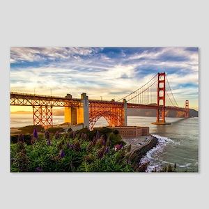 Golden Gate Bridge Postcards (Package of 8)