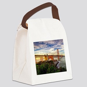 Golden Gate Bridge Canvas Lunch Bag