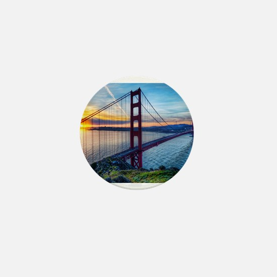 Golden Gate Bridge Mini Button