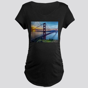 Golden Gate Bridge Maternity T-Shirt