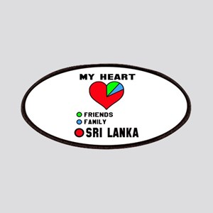 My Heart Friends, Family and Sri Lanka Patch
