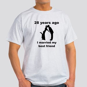 28 Years Ago I Married My Best Friend T-Shirt