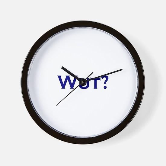 Wut? Wall Clock