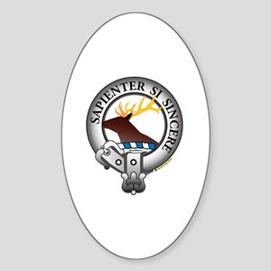 Davidson Clan Sticker (Oval)