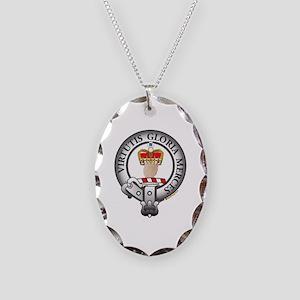 Donnachaidh Robertson Clan Necklace Oval Charm