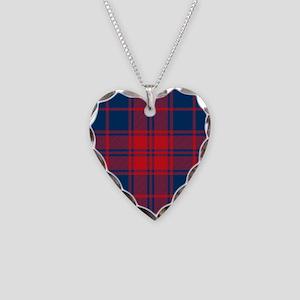 Donnachaidh Robertson Clan Necklace Heart Charm