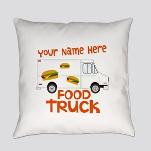 Food Truck Everyday Pillow