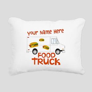 Food Truck Rectangular Canvas Pillow