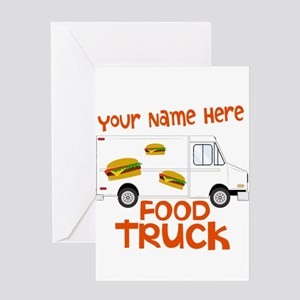Food Truck Greeting Cards
