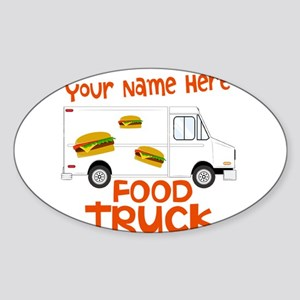 Food Truck Sticker