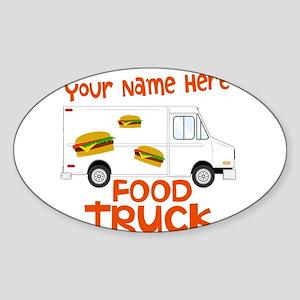 Food Truck Sticker