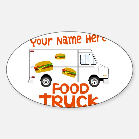 Food Truck Decal