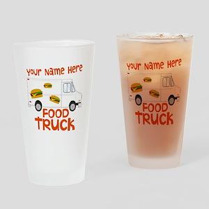 Food Truck Drinking Glass