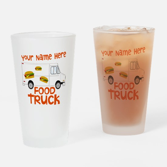 Food Truck Drinking Glass