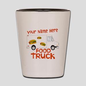Food Truck Shot Glass