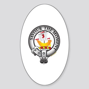 Duncan Clan Sticker (Oval)
