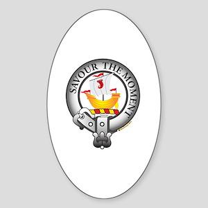 Duncan Clan Sticker (Oval)
