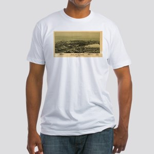 Vintage Pictorial Map of Altoona PA (1895) T-Shirt