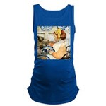 Breakfast Buddies Maternity Tank Top