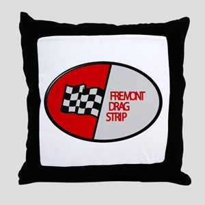 Fremont Drag Strip Throw Pillow