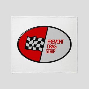 Fremont Drag Strip Throw Blanket