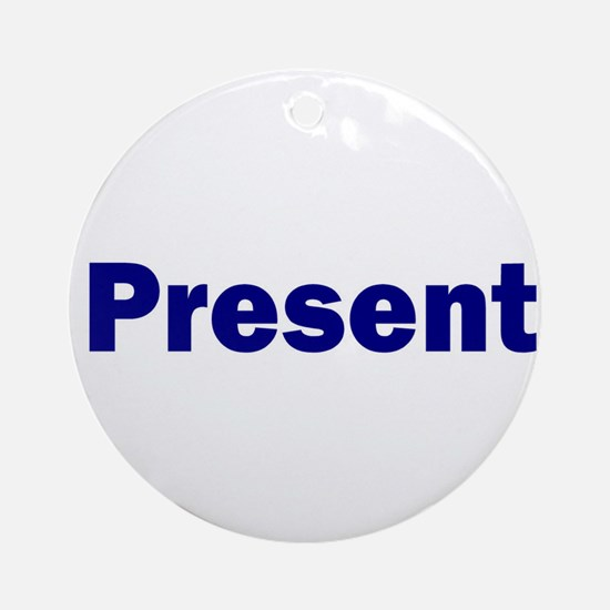 Present Ornament (Round)