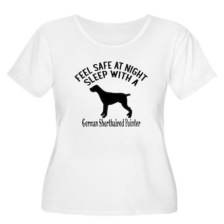 Sleep With Ge Women's Plus Size Scoop Neck T-Shirt
